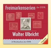 Philatelie-kompakt: Walter Ulbricht Freimarkenserien der DDR
