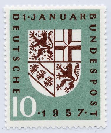 BRD MiNr. 249 ** Eingliederung des Saarland