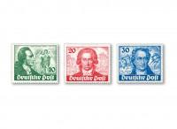 Berlin MiNr. 61/63 ** 200 Geb. J.W. von Goethe