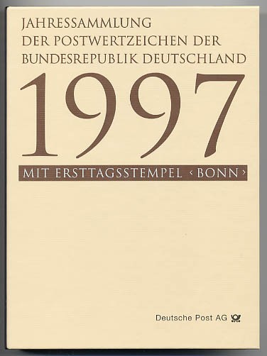 BRD Jahressammlung 1997 o