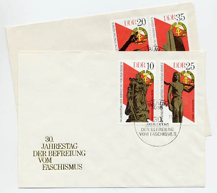DDR FDC MiNr. 2038/41 30. Jtg. d. Befreiung