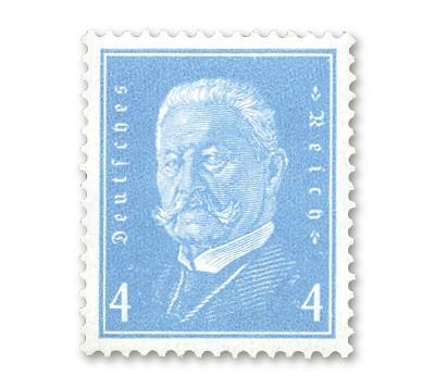 """Dt. Reich MiNr. 454 ** Dt. Reich: FM """"Reichspräsidenten"""""""