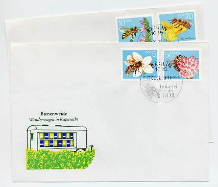 DDR FDC MiNr. 3295/98 Die Biene