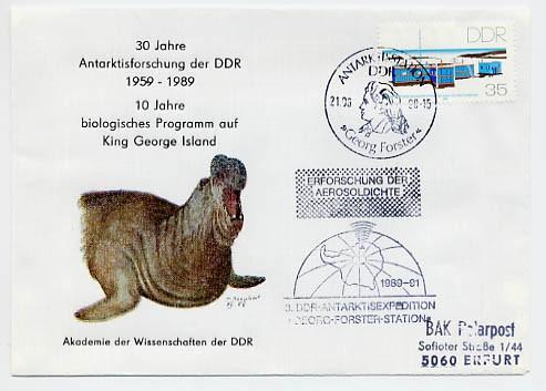 DDR Kulturbund Schmuckumschlag