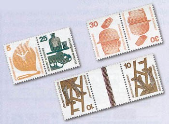 BRD Zdr.-Kombinat. 27 Zdr.aus MH ** Unfallverhütg. K10-KZ9a, W38-KZ9, W43-KZ10,W47-56