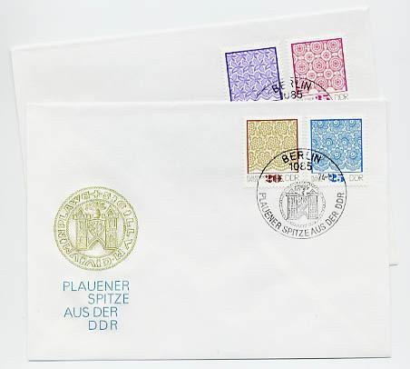 DDR FDC MiNr. 1963/66 Plauener Spitze