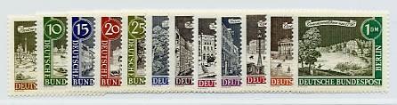 Berlin MiNr. 218/29 ** Alt-Berlin