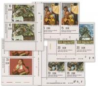 DDR MiNr. 2001/2005 DV ** Staatl. Museen Berlin: Gemälde