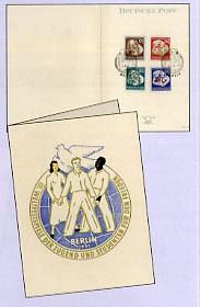 DDR Faltkarte MiNr. 289/92