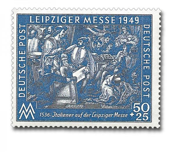SBZ Allg.A. MiNr. 231 b ** gepr. Leipziger Frühjahrsmesse 1949