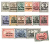 Bayern MiNr. 136/51 ** Freistaat Bayern / Pf/M / gezähnt
