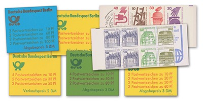 Berlin MH ** Set Mi 9-15