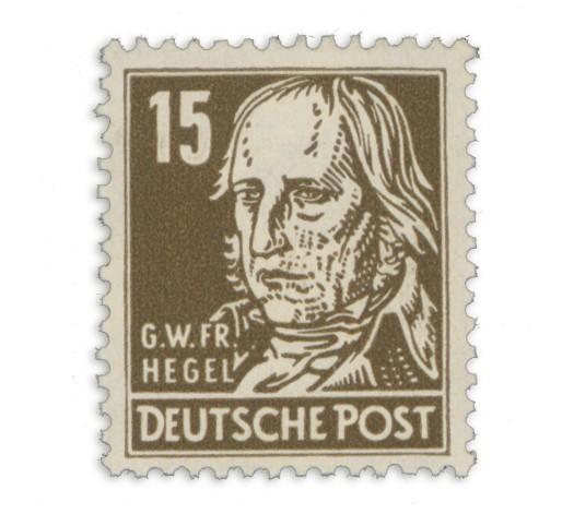 SBZ Allg.A. MiNr. 217 c **, gepr. 15Pf. G. Hegel
