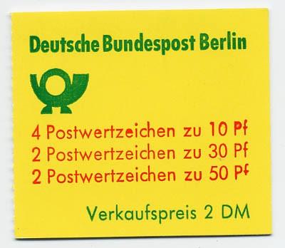 Berlin MH 10aI ** Burgen u.Schlösser 1977