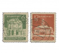 SBZ Ost-Sa. MiNr. 64/65 o