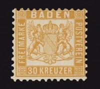 Baden MiNr. 22b **