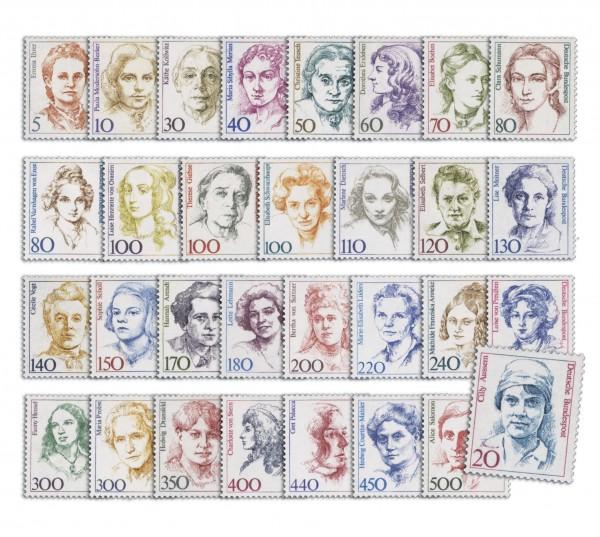 BRD - Freimarken ** 31 Werte in DM-Währung