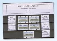 """BRD ATM Automatenmarken Set """"Sanssouci"""""""