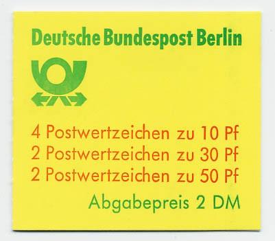 Berlin MH 11da ** Burgen und Schlösser 1980