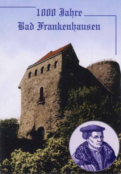 BRD Gedenkblatt 1000 Jahre Bad Frankenhausen So-Ersttagsstempel Bad Frankenhausen