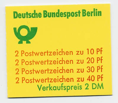 Berlin MH 9b ** Unfallverhütung 1974
