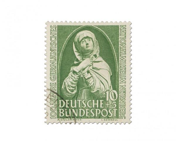 BRD MiNr. 151 o Nationalmuseum Nürnberg