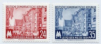 DDR MiNr. 433/34 ** LHM 1954