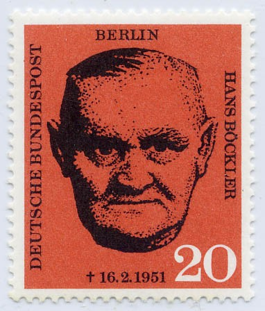 Berlin MiNr. 197 ** 10. Tdstg. von Hans Böcklerr