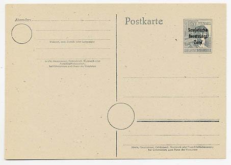 SBZ Allg.A. Ganzsache P 31 * (12 Pf.)
