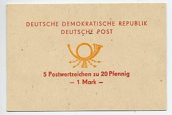 DDR SMHD 2a ** Posthorn rot/orange