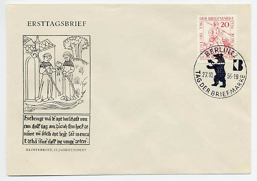 DDR FDC MiNr. 544 Tag d. Briefmarke