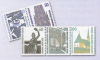 Berlin 16 Zdr. aus MH ** Sehenswürdigkeiten W83-88, W89-98