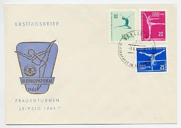 DDR FDC MiNr. 830/32 Frauenturnen