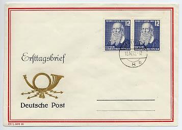 DDR FDC MiNr. 317 100. Tdg. Jahns