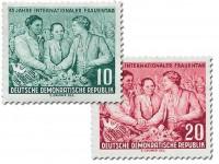 DDR MiNr. 450/51 ** Int. Frauentag