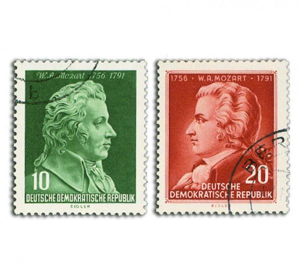 DDR MiNr. 510/11 o Mozart