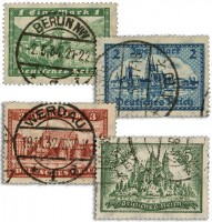 Dt. Reich MiNr. 364/67 o