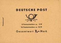 DDR MH 4c3.2 ** Freimarken: Ulbricht