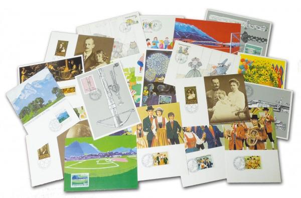 Liechtenstein 40 Maximumkarten