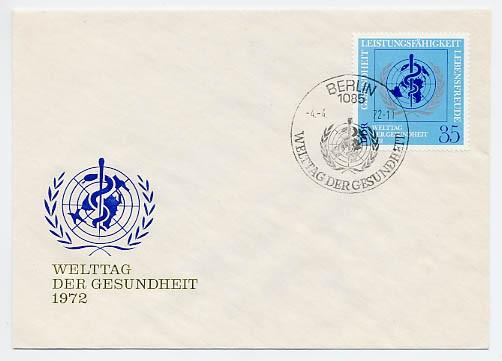 DDR FDC MiNr. 1748 Welt-Herzmonat