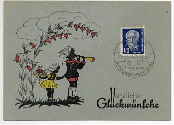 DDR Erstagsbeleg MiNr. 251  Freimarken: Pieck I