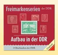 Philatelie-kompakt: Aufbau in der DDR -Großformat Freimarkenserien der DDR