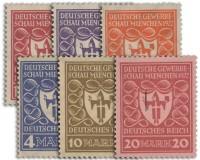 Dt. Reich MiNr. 199/204 **