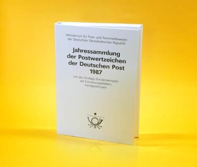 DDR Jahressammlung 1987 o