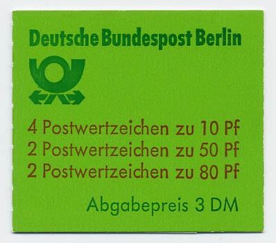Berlin MH 13a ** Burgen u.Schlösser, 1982