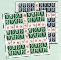 DDR MHB 10/11 ** MiNr. 845/46 (kplt.) Freimarken: Ulbricht