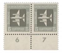DDR MiNr. 609 Flugpostmarke 5Pf **
