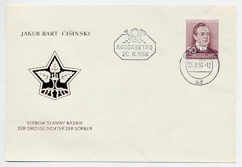 DDR FDC MiNr. 535 Bart Cisinski