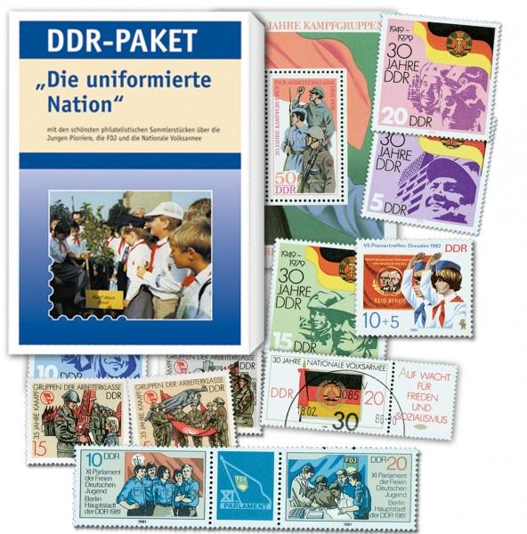 """DDR-Paket """"Die uniformierte Nation"""""""