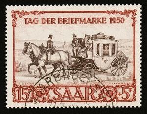Saarland MiNr. 291 o gepr. Tag der Briefmarke 1950